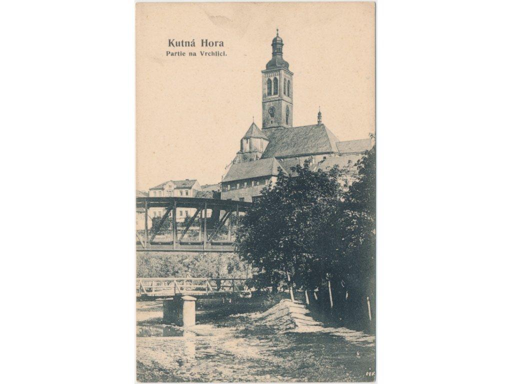 31 - Kutná Hora, partie na Vrchlici, nákl. J. Zajíc, cca 1906