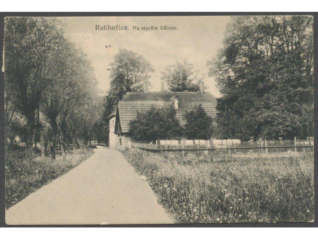 38 - Náchodsko, Ratibořice, na starém bělidle, cca 1921