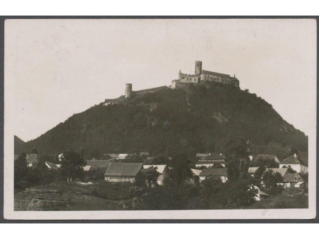11 - Českolipsko, hrad Bezděz, Grafo Čuda, cca 1936
