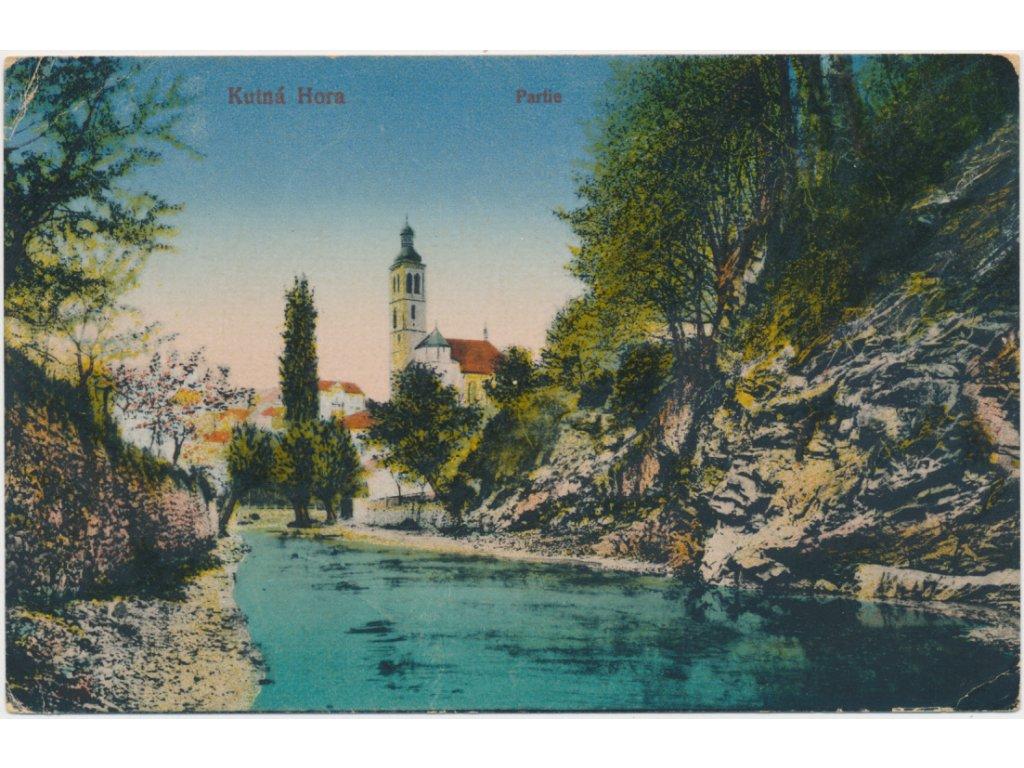 31 - Kutná Hora, partie na Vrchlici, cca 1918