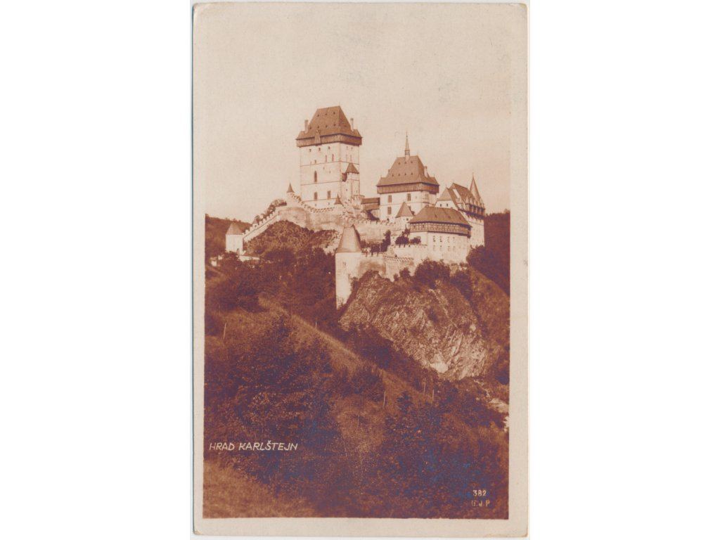 02 - Berounsko, hrad Karlštejn, cca 1928