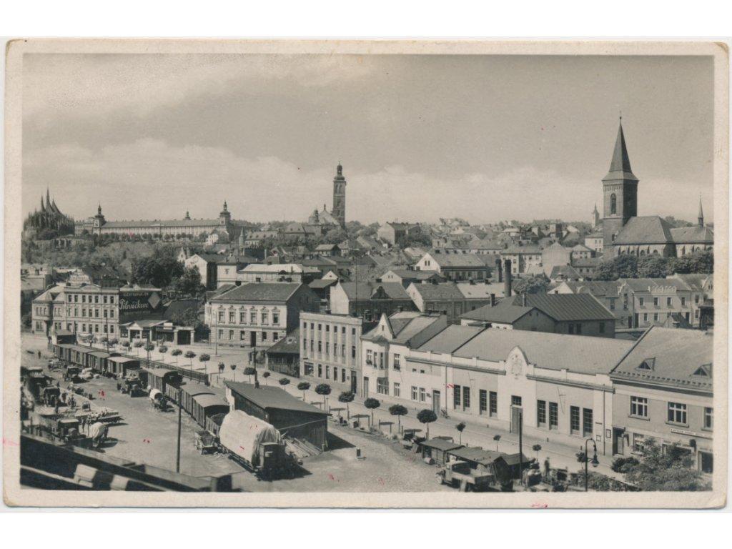 31 - Kutná Hora, pohled na centrum města...
