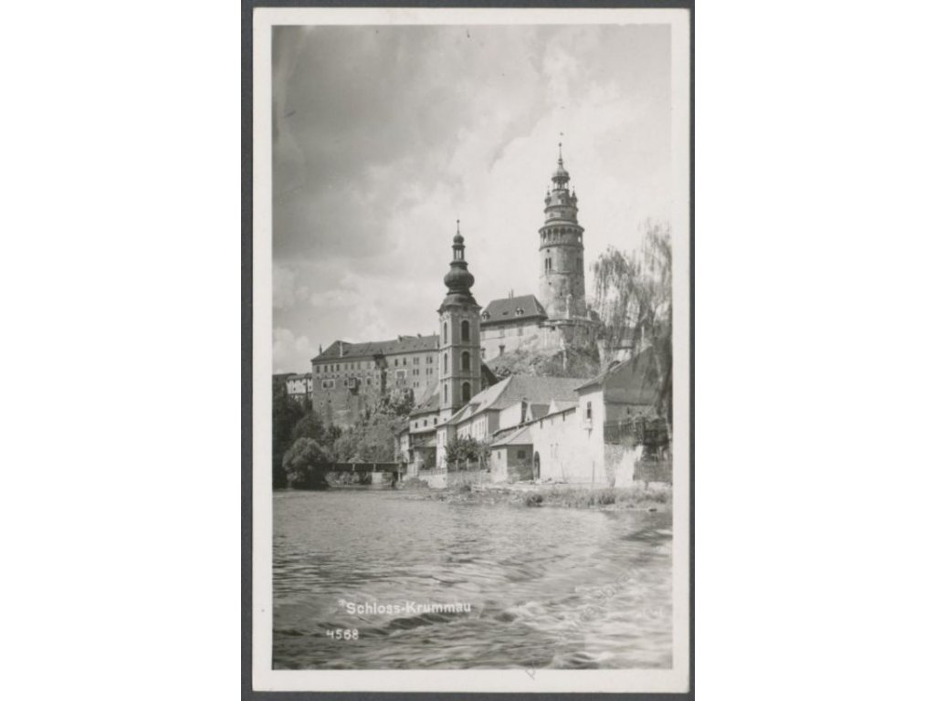 13 - Český Krumlov, zámek, (Schloss Krumau), nakl. a foto Seidel, cca 1930