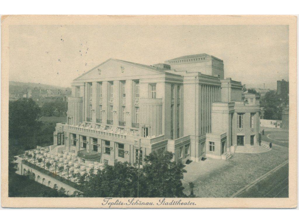 65 - Teplice, městské divadlo, nákl. T. Ascherl, cca 1930