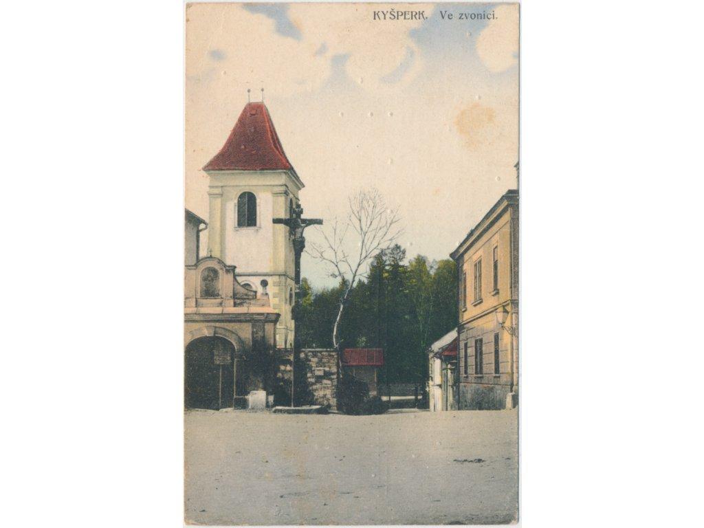 "70 - Orlickoústecko, Kyšperk - Letohrad, ""Ve zvonici"", cca 1946"