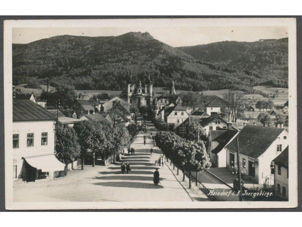32 - Liberecko, Jizerské hory, Hejnice, (Isergebirge, Haindorf), nakl. Augsten, cca 1935