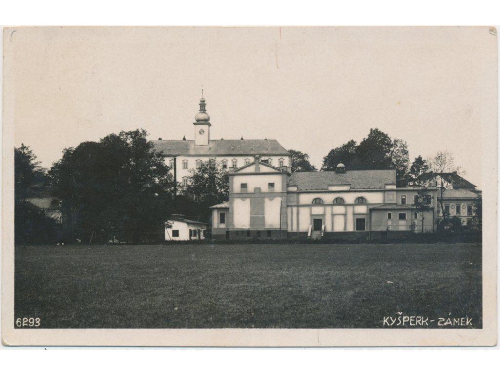 70 - Orlickoústecko, Kyšperk-Letohrad, Zámek, cca 1931