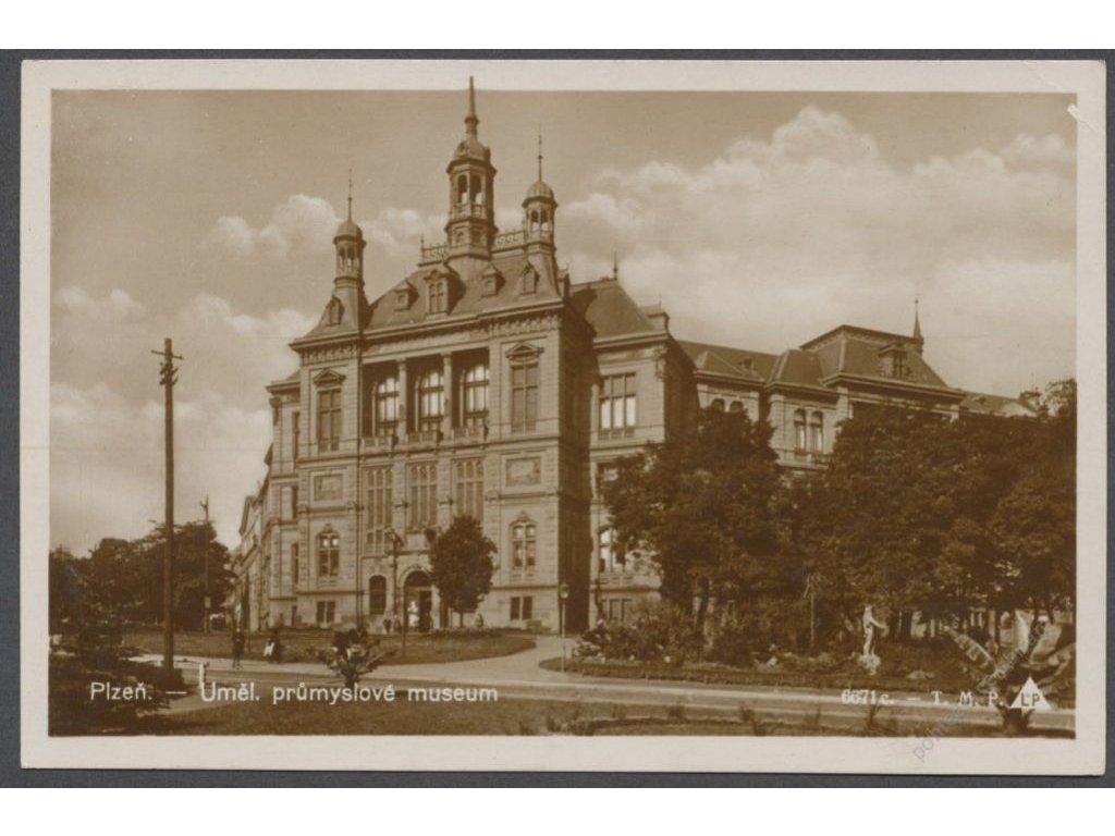 47 - Plzeň, Umělecké průmyslové museum, nakl. T. M. P., cca 1925