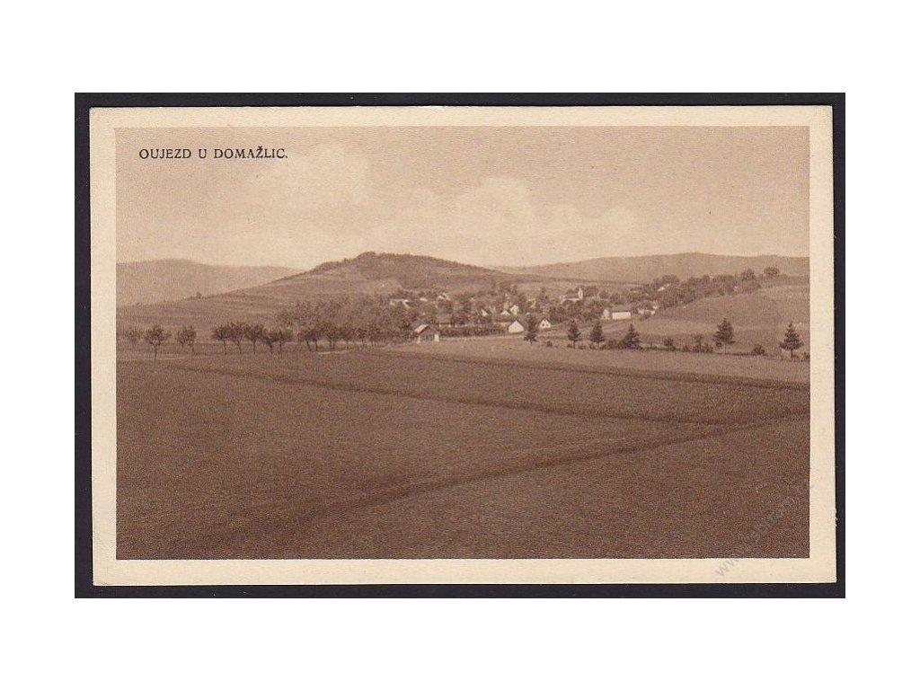 15 - Domažlicko, Oujezd u Domažlic, nakl. Rybařík, cca 1930