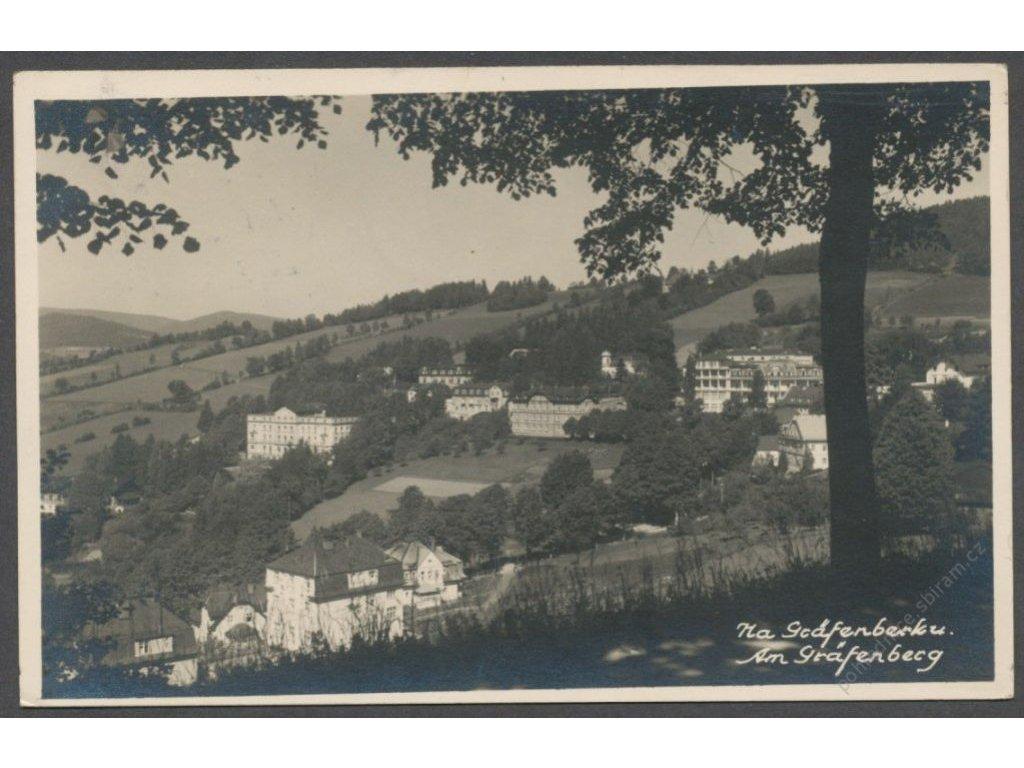 21 - Jesenicko, Priessnitzovy léčebné lázně (Gräfenberg), cca 1935