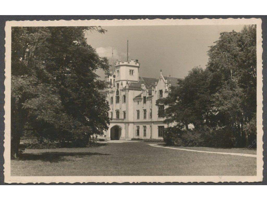 46 - Písecko, sanatorium Vráž (Wrasch), nakl. Klub Českých Turistů, grafo Čuda, cca 1940