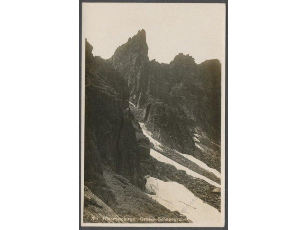 Poland, Giant Mountains, Grosse Schneegruben, publ. W. W., cca 1930