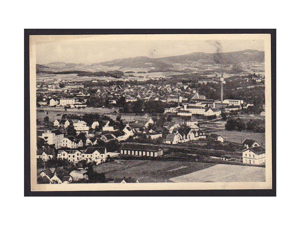 11 - Česká Lípa, celkový pohled, cca 1940