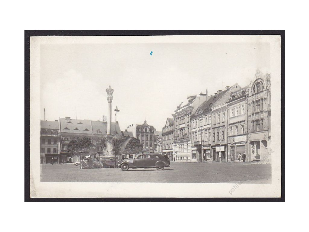 11 - Česká Lípa, náměstí Dra. E. Beneše, nakl. Orbis, cca 1948