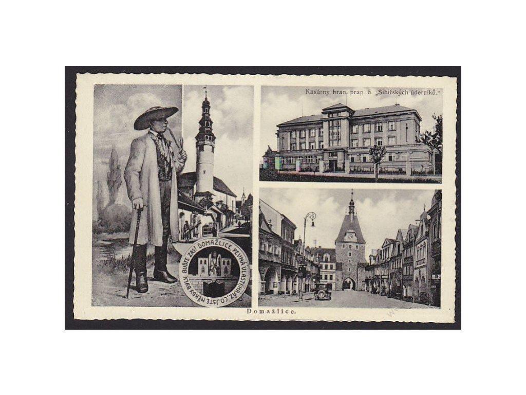 15 - Domažlice, nakl. Švec, cca 1935