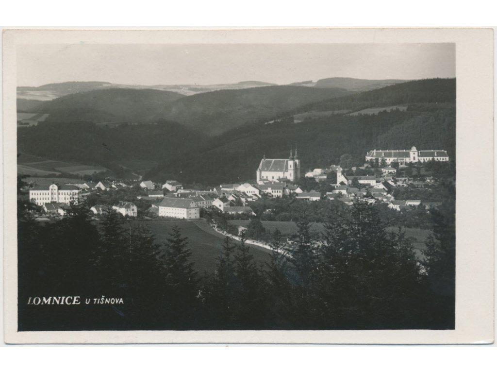 05 - Brno - venkov, Lomnice, celkový pohled na město, cca 1939