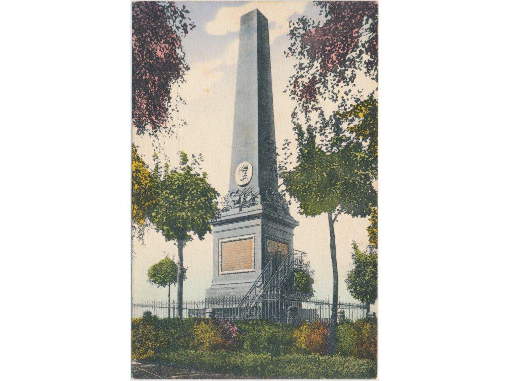 66 - Trutnov, Památník generála Ludvíka Gablenze, cca 1919