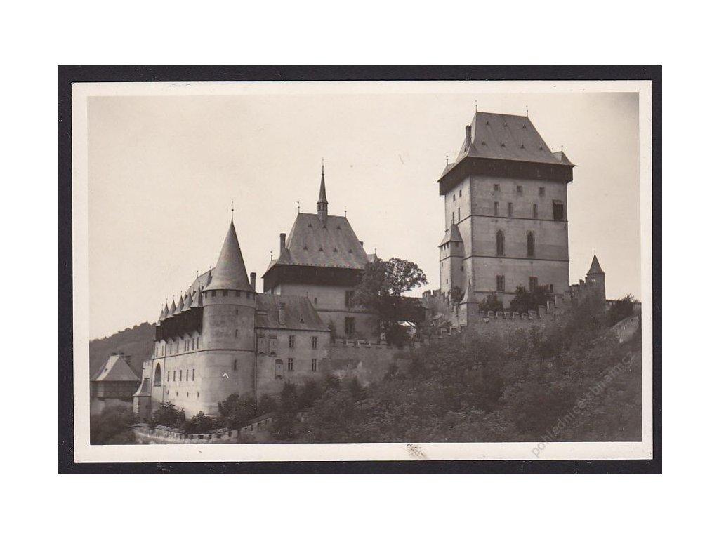 02 - Berounsko, Karlštejn, nakl. Klub Českých turistů, grafo Čuda, cca 1942