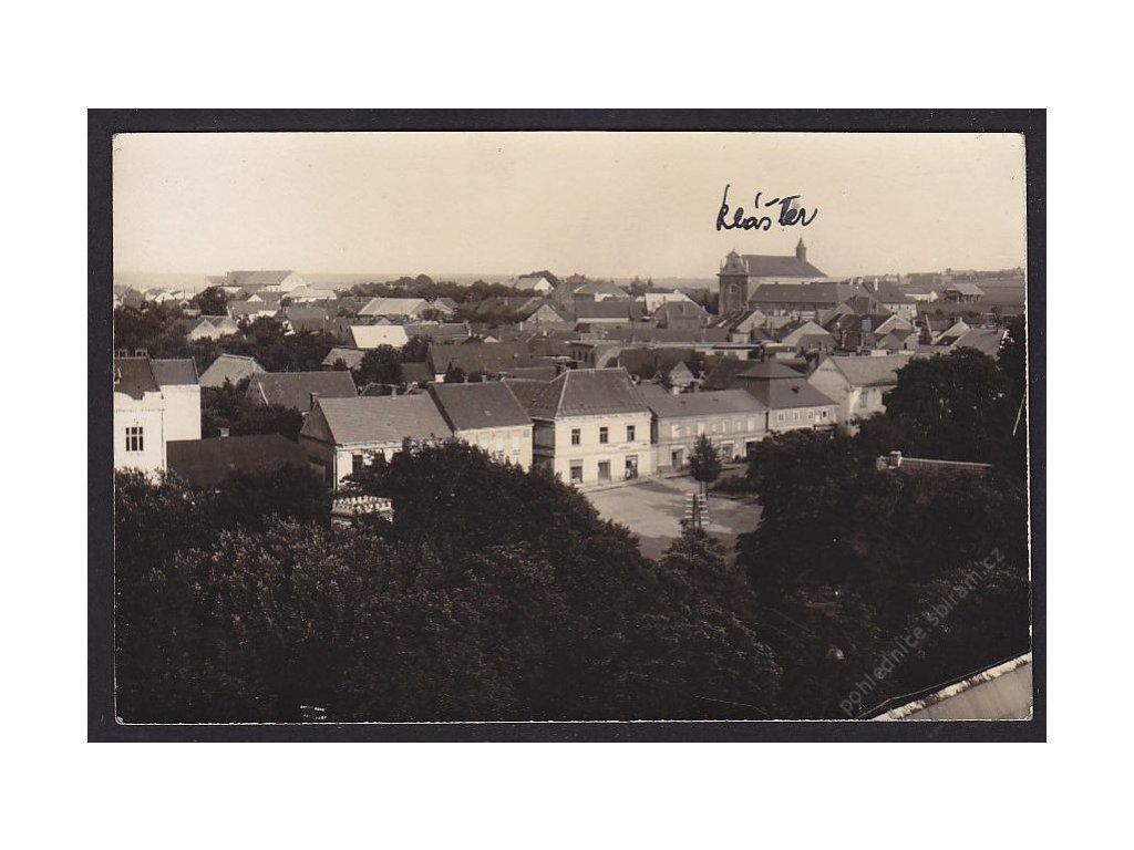 29 - Kolínsko, Zásmuky, nad střechami, cca 1930