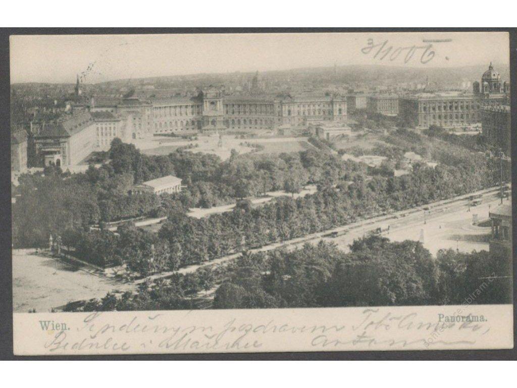 Austria, Vienna, panorama, cca 1900