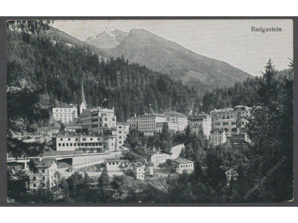 Austria, Salzburg, Bad Gastein, overview, cca 1930