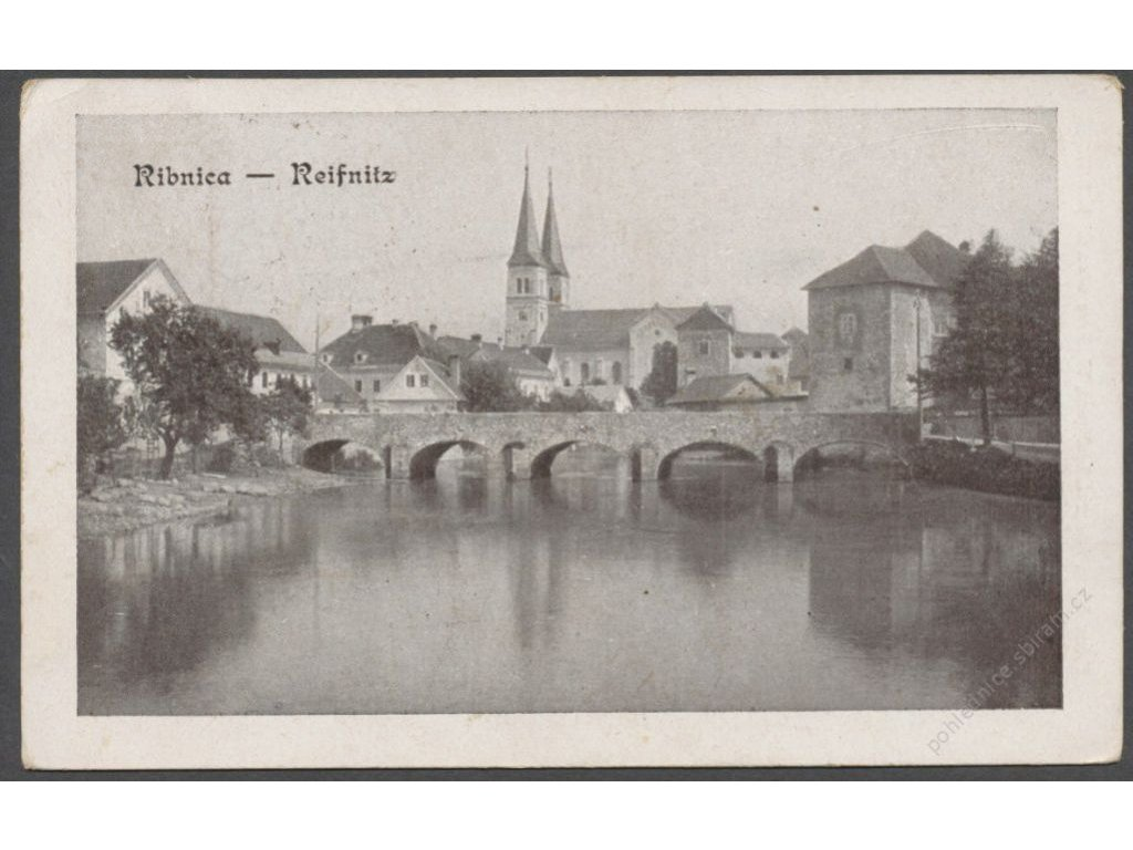 Moldova, Ribnica, Reifnitz, publ. Kunc, cca 1912