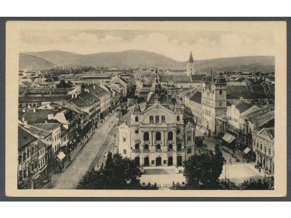 Slovensko, Košice, Štefánikova ulice, nakl. Fried, cca 1936