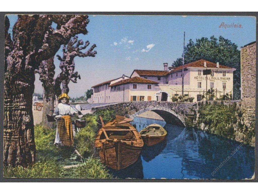 Italy, Friuli-Venezia Giulia, Udine, Aquileia, publ. Stokel & Debanba, cca 1910