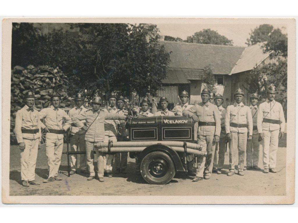 10 - Chrudimsko, Včelákov, Sbor dobrovolných hasičů, ojedinělý výskyt!