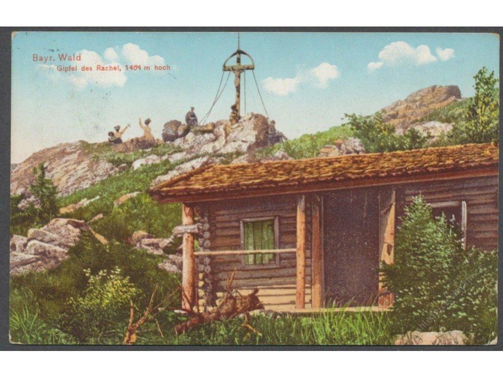 Germany, Bavaria, Bavarian Forest, Gipfel des Rachel, cca 1910