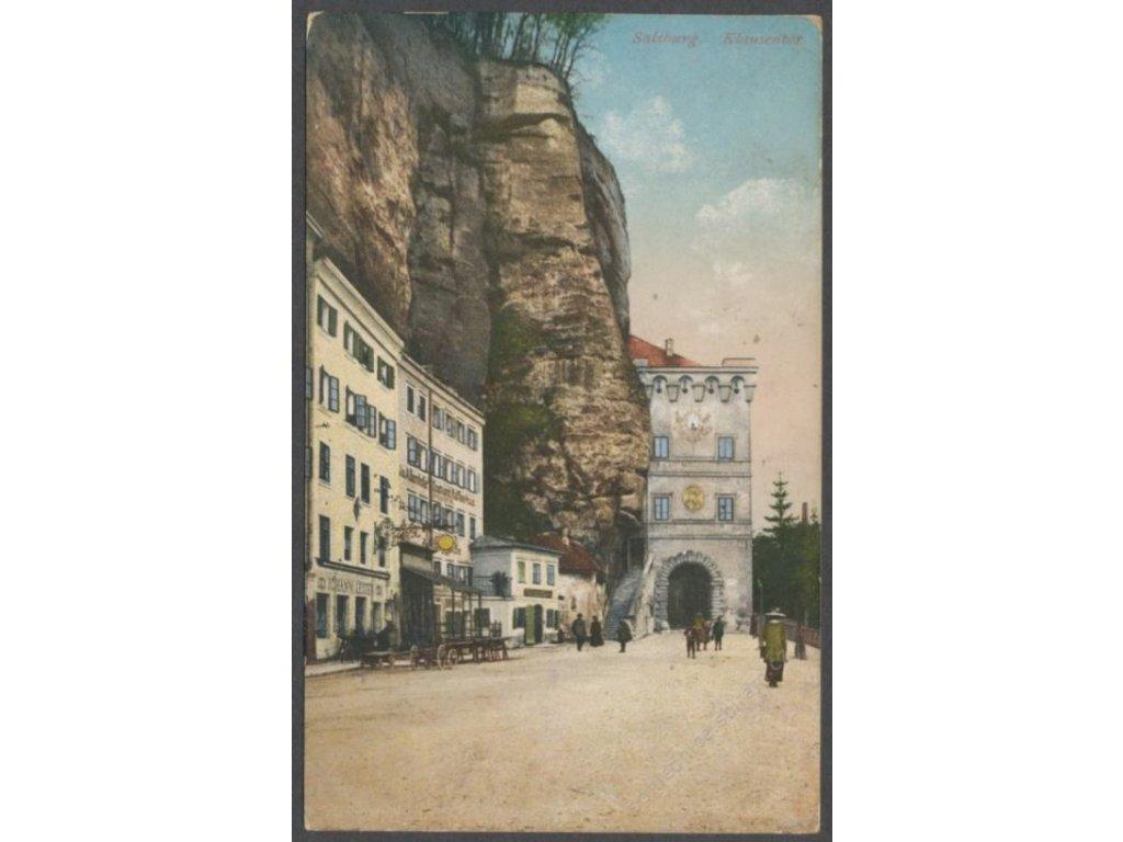 Austria, Salzburg, Klausentor gate, publ. Purger & Co., cca 1917