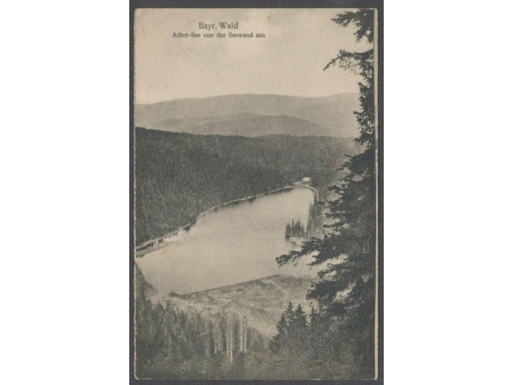 Germany, Bavaria, Bavarian Forest, Arber Lake, cca 1925