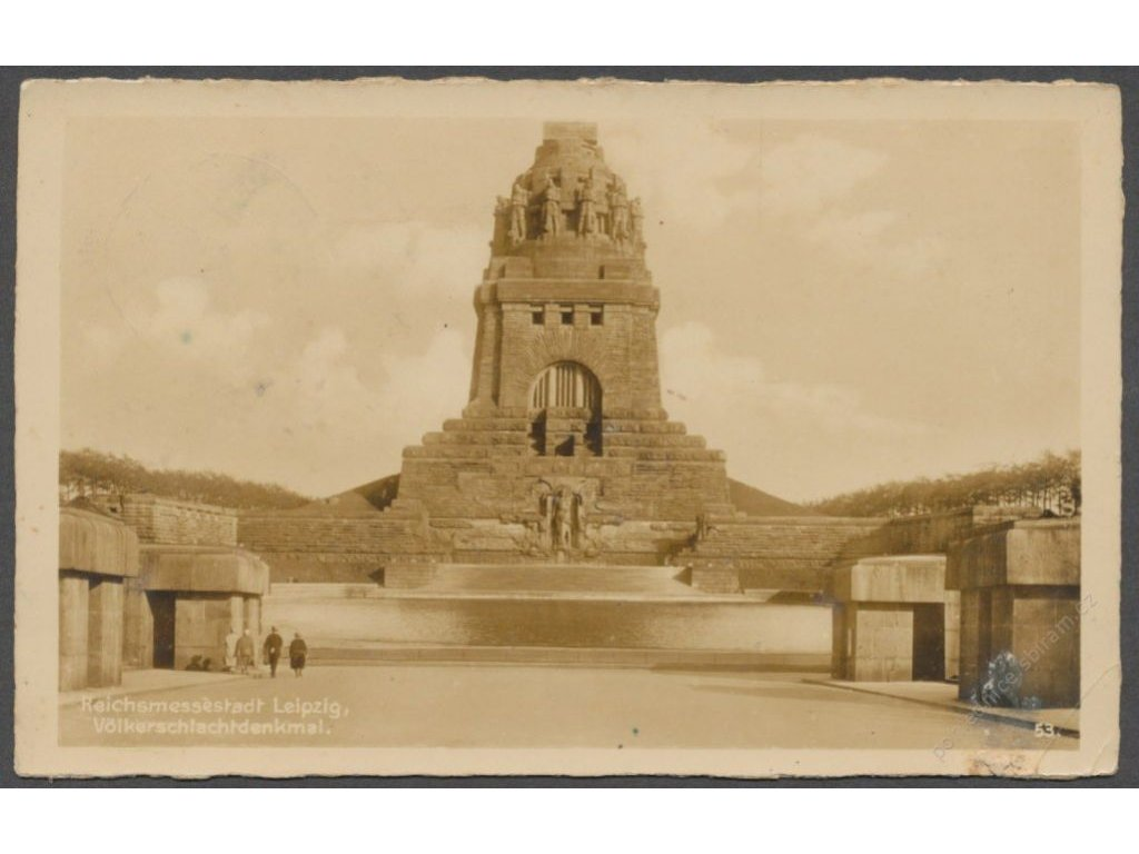 Germany, Leipzig, Monument to the Battle of the Nations, publ. Trinks, cca 1930