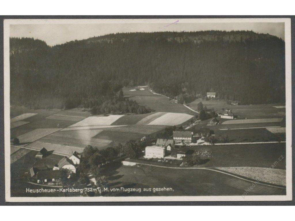 Germany, Heuscheur-Karlsberg, overview, foto Jantke, cca 1930