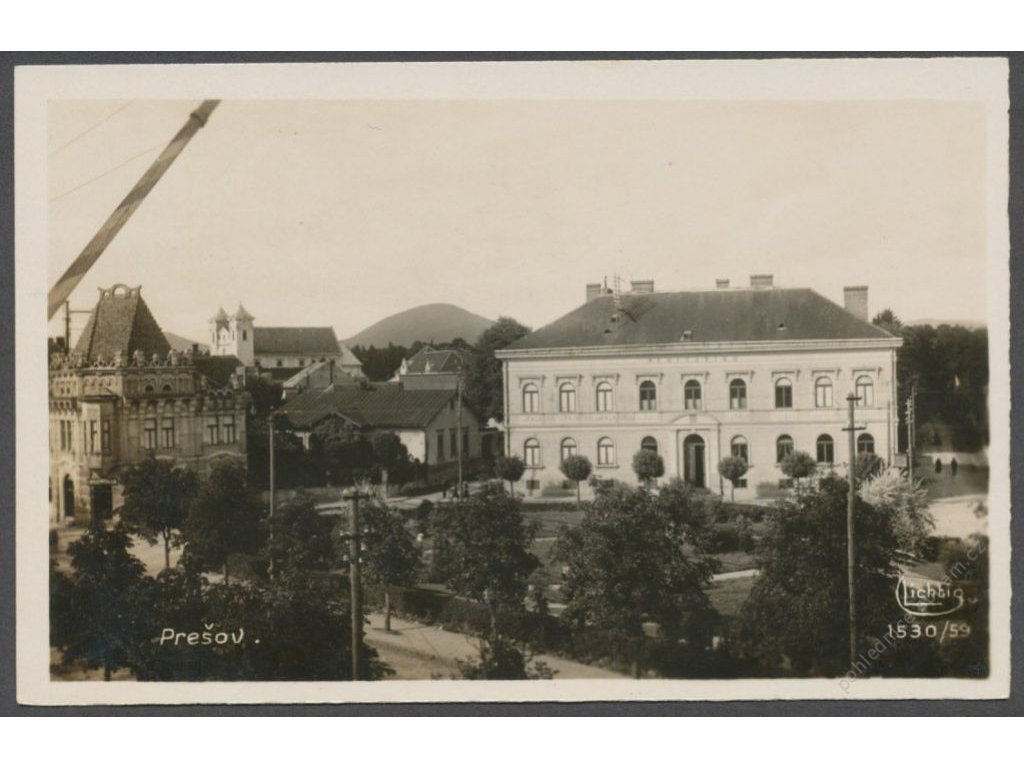 Slovensko, Prešov, nakl. Lichtig, cca 1935