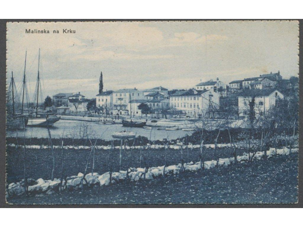 Croatia, Primorje-Gorski Kotar County, Krk, Malinska, cca 1935