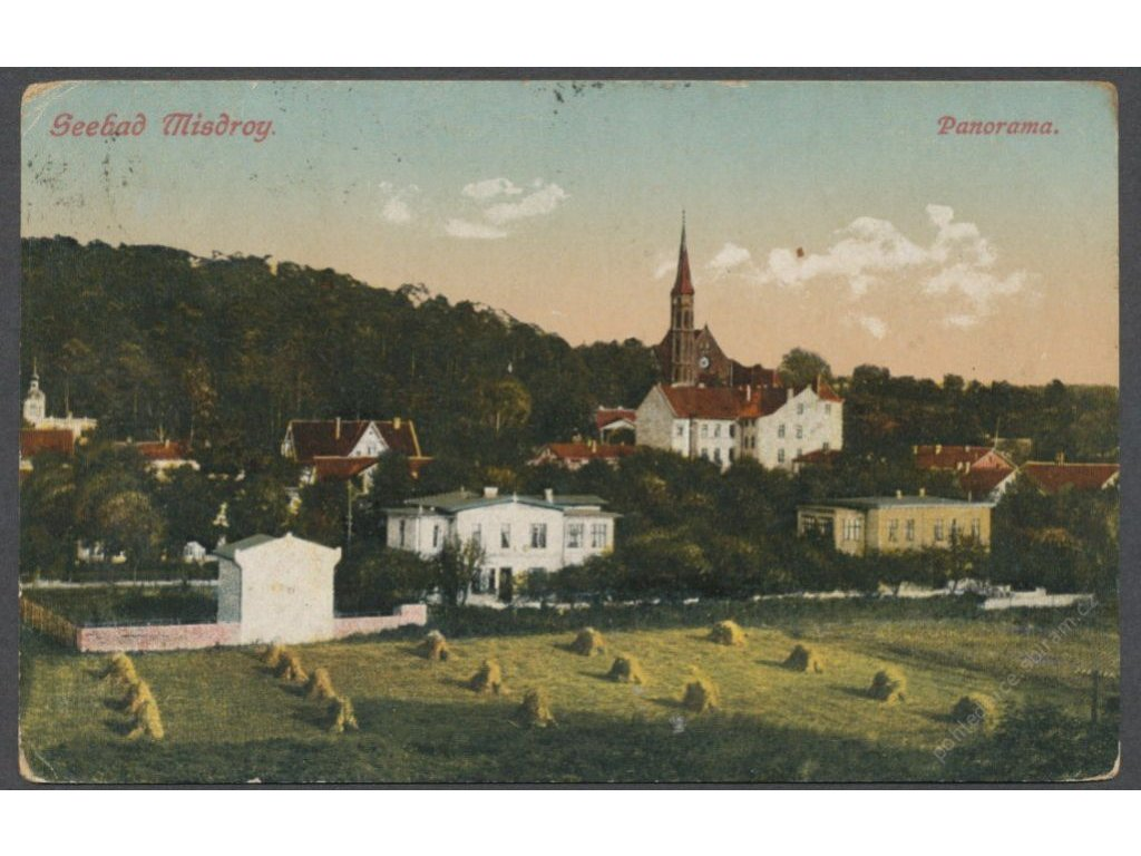 Poland, Baltic, Wolin, Międzyzdroje, panorama, publ. Well, cca 1923