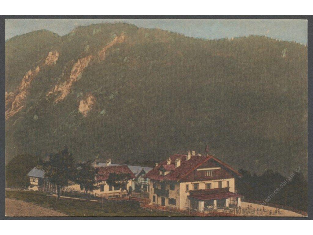 Austria, Lower Austria, Styria,Northern Limestone Alps,Semmering Pass, publ G.K.E., cca 1908
