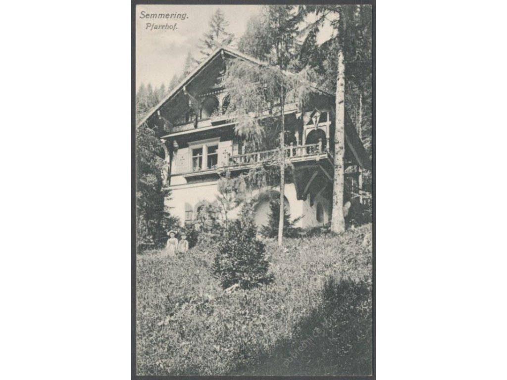 Austria, Lower Austria, Styria,Northern Limestone Alps,Semmering Pass, publ. Frank, cca 1910