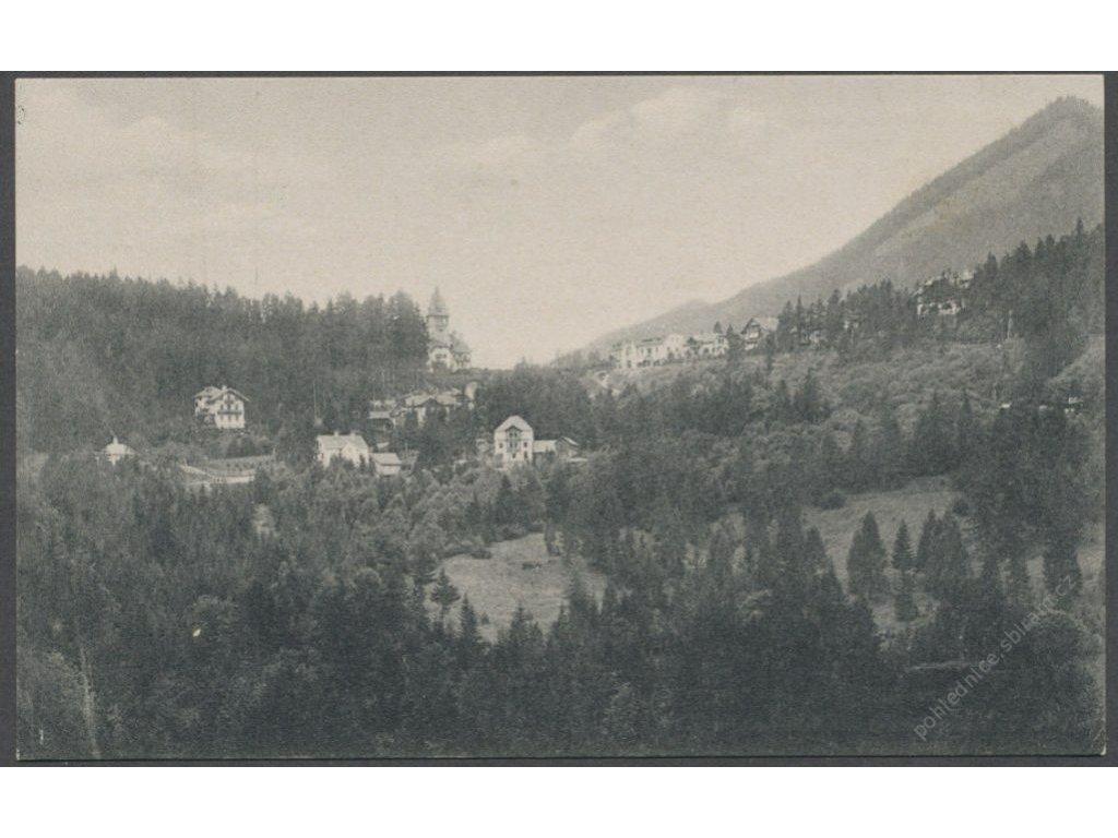 Austria, Lower Austria, Semmering, Hotel Erzherzog with villa Anlage, publ. G.K.E., cca 1908