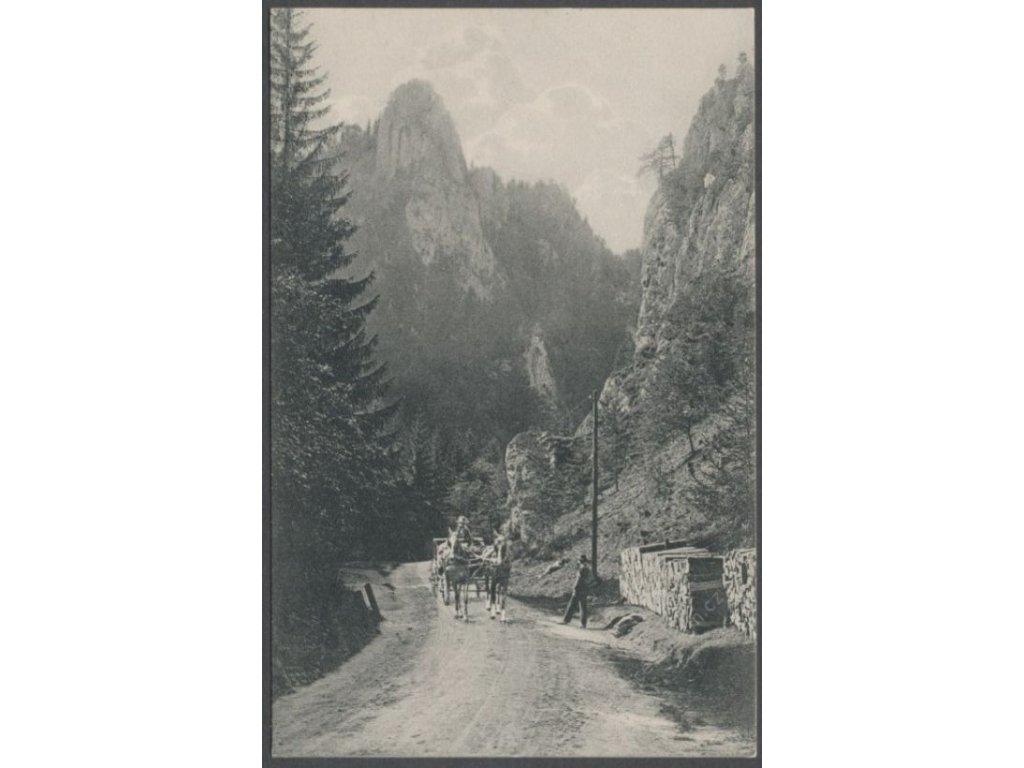 Austria, Lower Austria, Semmering Pass, Adlitzgräben route, publ. G.K.E., cca 1910