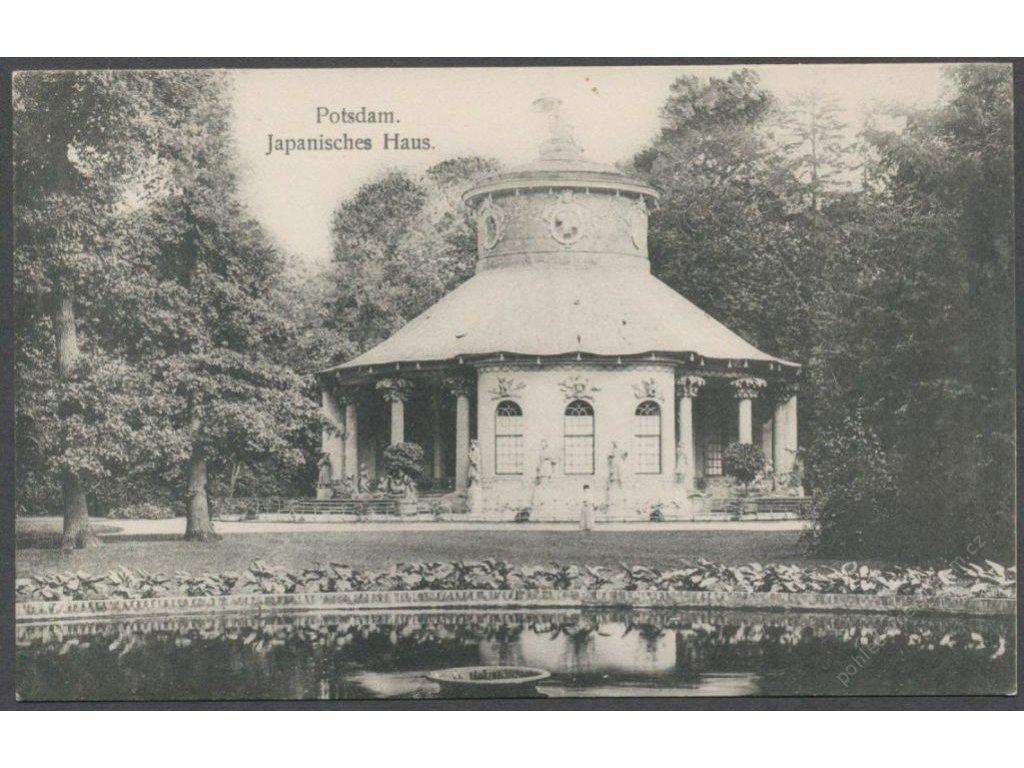 Germany, Brandenburg, Potsdam, Chinese House, cca 1908