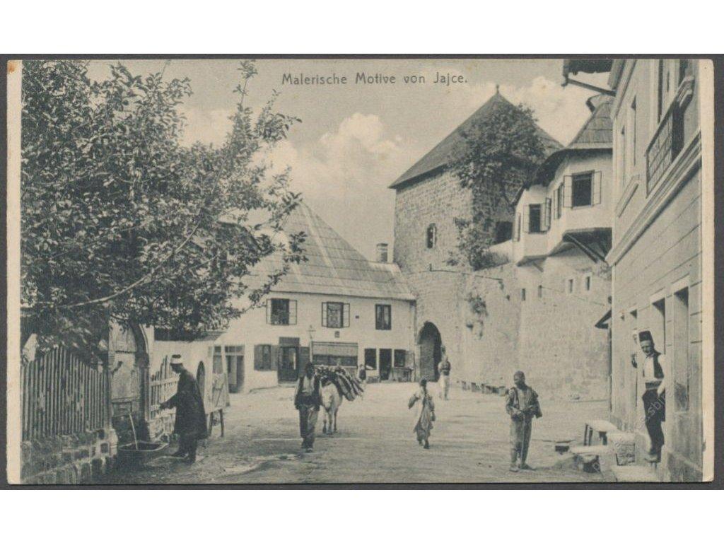 Bosnia and Herzegovina, Jajce, publ. Engel, cca 1910