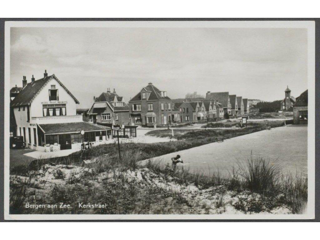 Netherlands, Dutch, Bergen aan Zee, houses, publ. Haan, cca 1920