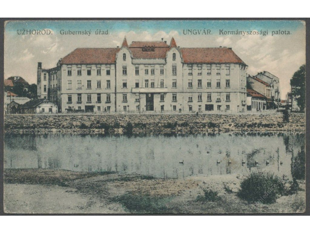 Ukraine, Uzhgorod, administrative office, publ. Jilovský, cca 1915