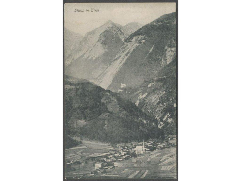 Austria, Schwaz, Stans, overview, photo Link, cca 1909