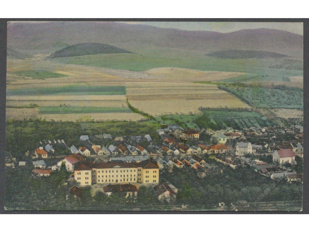 Slovensko, Sabinov, celkový pohled, nakl. Kuček, cca 1926