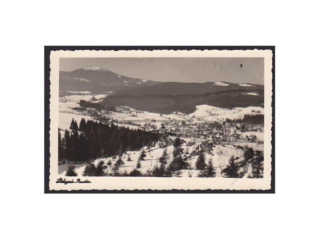 28 - Šumava, Železná Ruda, foto Wurbs, cca 1935