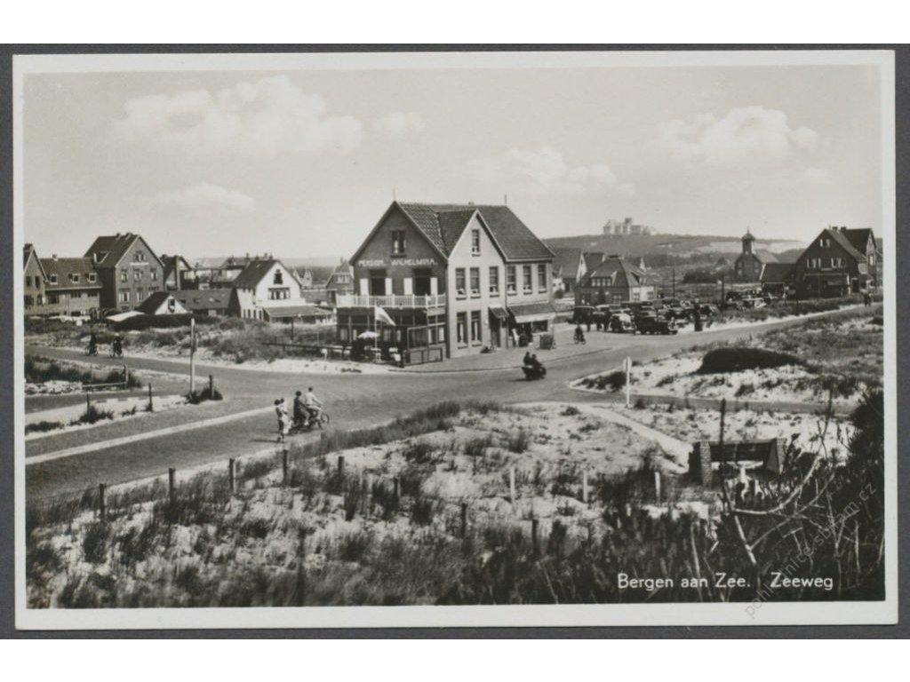 Netherlands, Dutch, Bergen aan Zee, seeway, publ. Haan, cca 1930