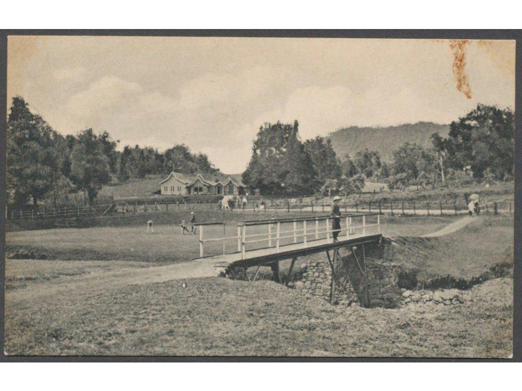 Sri Lanka, Colombo, golf course, nakl. Platé, cca 1908